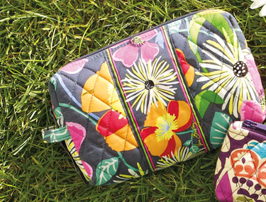 Medium Cosmetic in Jazzy Blooms