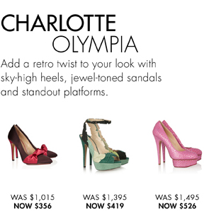 CHARLOTTE OLYMPIA width=