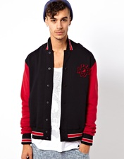 Huf Varsity Sweat Jacket