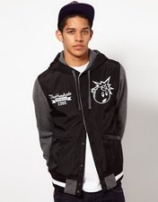 The Hundreds Unloaded Varsity Jacket