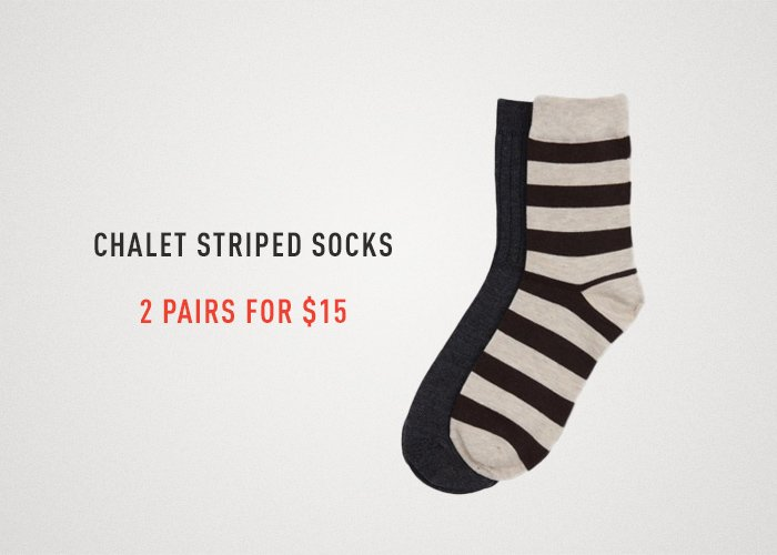 Striped Sock Packs