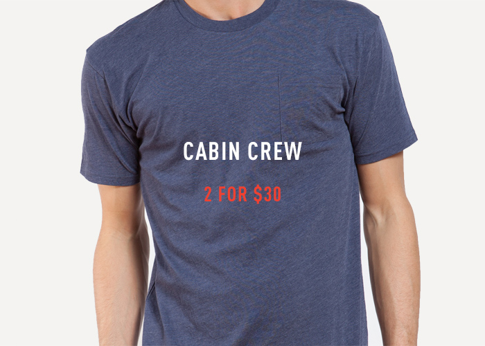 Crew T-Shirt Packs