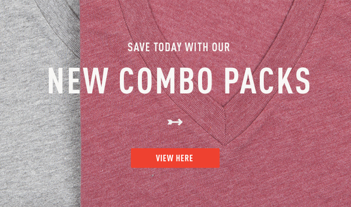Save Time Today With Our New Combo Packs
