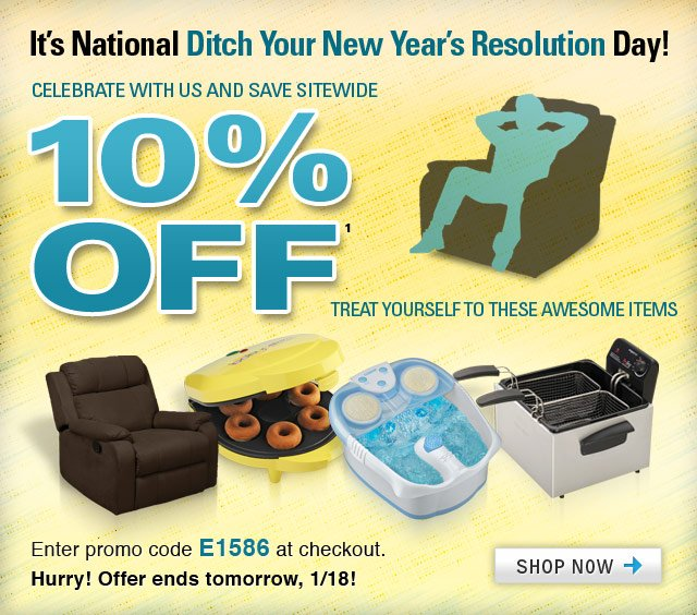 ditch your resolution day