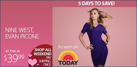 today show-nine west evan picone