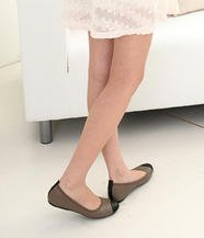 Faux Leather Flats