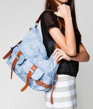 Pocket Front Shoulder Bag