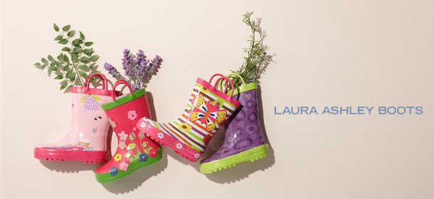 LAURA ASHLEY BOOTS, Event Ends January 22, 9:00 AM PT >