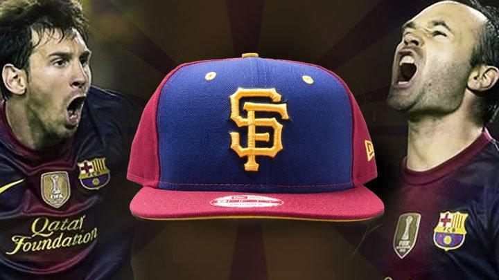 Blaugrana SF Giants Colorway New Era Hat