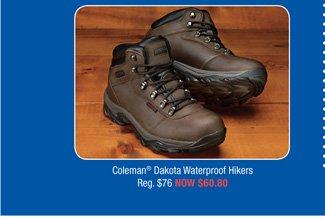 Coleman® Dakota Waterproof Hikers