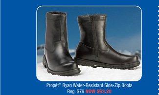 Propét® Ryan Water-Resistant Side-Zip Boots