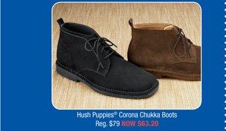 Hush Puppies® Corona Chukka Boots