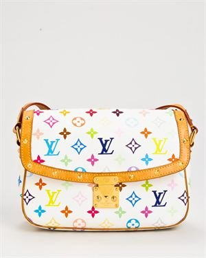 Louis Vuitton Multicolore Monogram Sologne Handbag $899