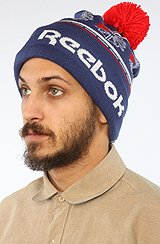 The Pom Beanie in Blue