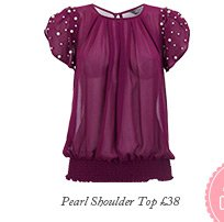 Pearl Shoulder Top