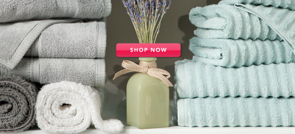 Freshen up the bed, bath, and more. SHOP NOW