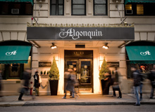 The Algonquin Hotel – New York, NY