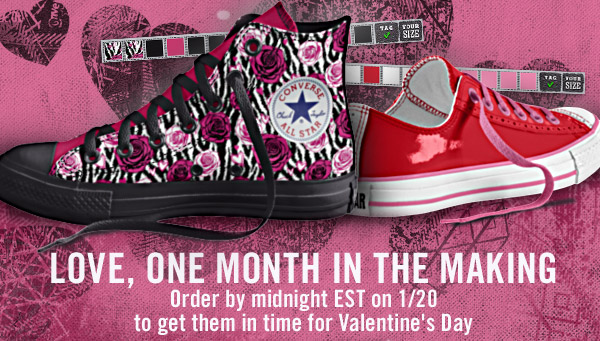 LOVE, ONE MONTH IN THE MAKING | Order by midnight EST on 1/20 to get them in time for Valentine's Day