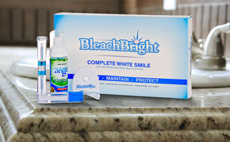BleachBright Teeth Whitening System - Visit Event
