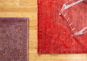 Overdyed Vintage Rugs: Manhattan Design District