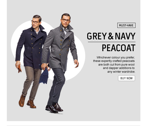 competitive price latest hot-selling genuine Suitsupply: Peacoat: grey or navy? | Milled
