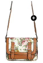 Floral Mini Crossbody Satchel - Shop Now