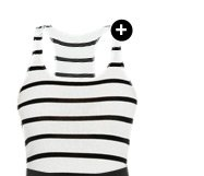 Sasha Stripe Racer Tank - Shop Now