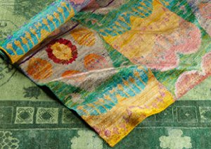 Silk Ikat Rugs: Manhattan Design District