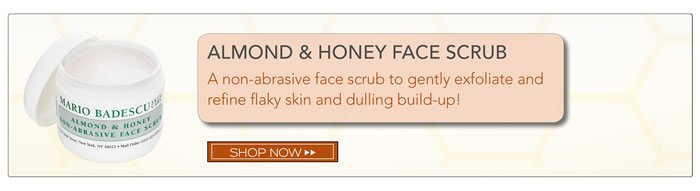 Almond and Honey Face Scrub