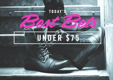 Shop Under $75