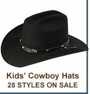 Kids Cowboy Hats