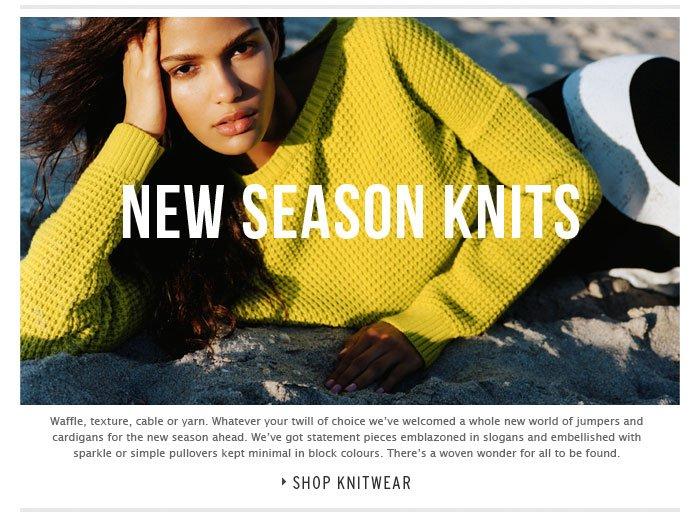 WOVEN WONDER - Shop Knitwear