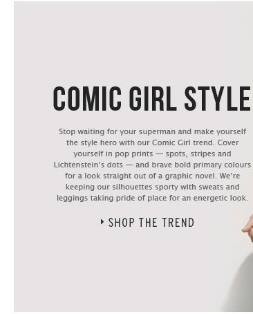COMIC GIRL STYLE - Shop the trend