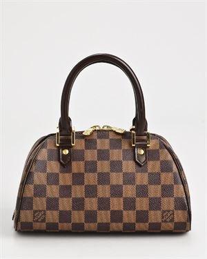 Louis Vuitton LU Ribera Mini Damier Ebene Handbag $699