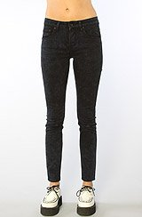 The Lizzy 5-Pocket Skinny Jean in Blue Riot