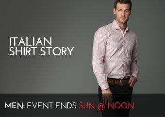 ITALIAN SHIRT STORY