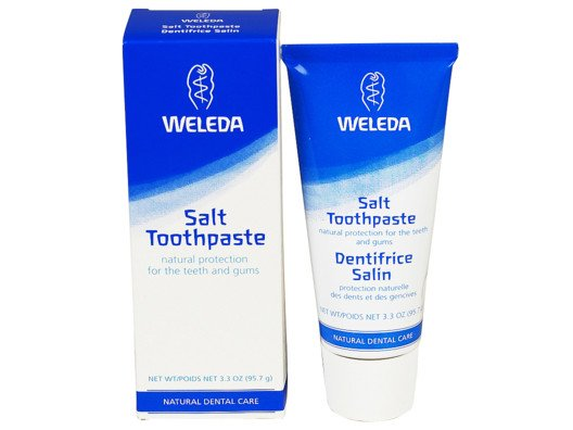 This is the healthiest toothpaste out there--like medicine for your teeth!