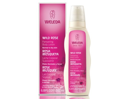 Weleda Wild Rose Pampering Body Lotion from Alicia Silverstone