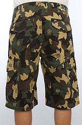 The Bushman Classic Cargo Shorts in Army Camo