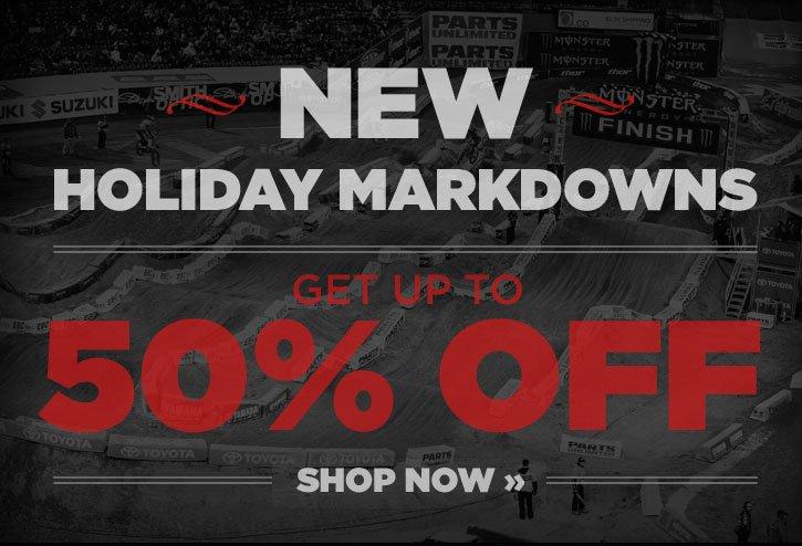 New Holiday Markdowns