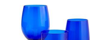 Cobalt Glassware $6 ea