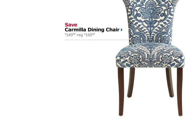 Save Carmilla Dining Chair $149.99 reg $169.95