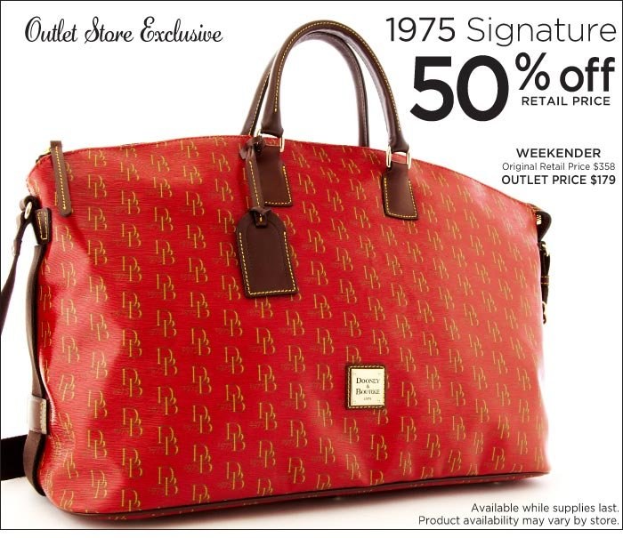 Outlet Exclusive - 1975 Signature 50% off retail price