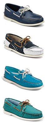 WIN A YEAR'S WORTH OF SPERRY TOP-SIDER SHOES