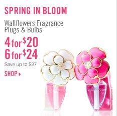 Wallflowers Fragrance Plugs & Bulbs - 4 for $20