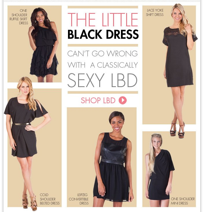 Find your little black dress for any occasion! + BOGO FREE Ends Monday! Use code: WINTER