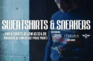 Sweatshirt & Sneaker Sale
