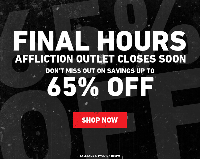 Final hours to Save up to 65%!
