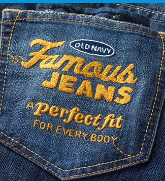 OLD NAVY Famous JEANS | A perfect fit FOR EVERY BODY