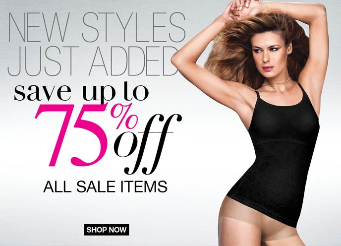 New Styles Just Added Save Up to 75% Off Sale Items